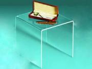 Espositore impilabile in acrilico trasparente cm. 14x14x14