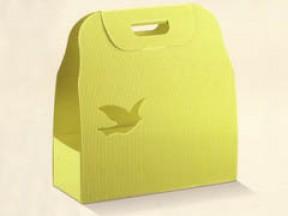 Scatole per colomba onda giallo cm 330x120x340 pz.10