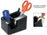 Dispenser per nastro adesivo mt 33 con 4 scomparti