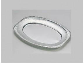 Vassoio alluminio per gastronomia mm 351x243x21 pz.1