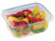 Contenitori alimenti trasparenti cc.1000 mm 119x163x60 pz.100