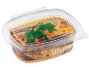 Contenitori alimenti trasparenti cc.375 mm. 122x92x43 pz. 100