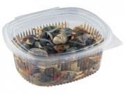 Contenitori alimenti trasparenti cc.750 mm 150x120x55 pz.100