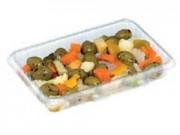 Contenitori alimenti trasparent cc.700  mm. 203x131x30 pz. 100