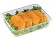 Contenitori alimenti trasparenti cc.1250 mm. 200x145x50 pz.100