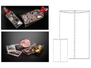 Sacchetti piatti trasparenti cm 15x25 pz.100