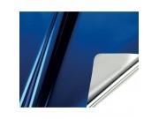 Carta regalo metal fogli cm.70x100 blu fogli 25