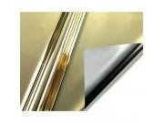 Carta regalo metal fogli cm.70x100 oro fogli 25