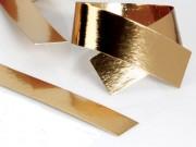 Strisce cartone oro cm.7x100 per confezionare pasticceria kg. 10