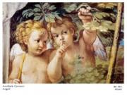 Annibale carracci angeli cm. 90x60 stampa arte affiches
