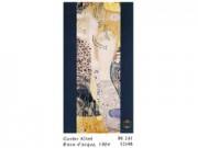 Gustav klimt biscie d'acqua cm. 52x98 stampa arte affiches