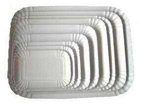 Vassoi cartone politenato cm.26x17,7 kg. 10