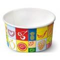 Coppetta bicchierino per gelato da ml.90 pz.42