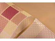 Tovaglie coprimacchia politenata quadri champagne cm 100x100 n50