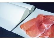 Carta politenata bianca x alimenti salumi formaggi cm.25x37 kg10