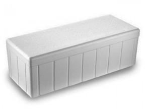 Scatola termica in polistirolo interno cm.24x11x10