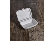 Contenitori biodegradabili con coperchio pz.50 cm.13,5x18 h6,5
