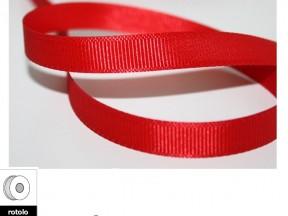 Nastro tessuto rosso mm.10 metri 25