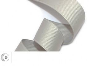 Nastro tessuto argento mm.10 metri 25