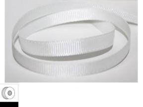Nastro tessuto bianco mm.10 metri 25