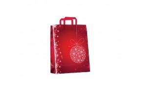 Sacchetti natalizi di carta pz.50 noel rouge cm.22+10x29