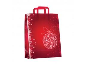 Sacchetti natalizi di carta pz.50 noel rouge cm.45+15x49