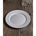 Piatti piani dessert biodegradabili pz.50 diam.cm.21 elegance