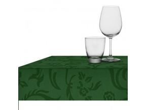 Tovaglia tnt(tessuto non tessuto) verde damascata cm.160x220