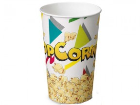Bicchieri contrenitori per pop corn ml 1390 pz.50